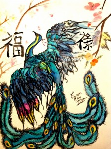 Peacock of Good Fortune and Prosperity