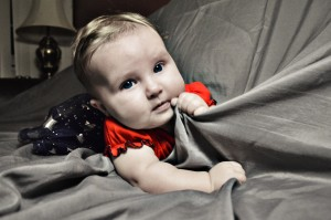 This is Annabelle, our daughter. She was born 3 months after her father committed suicide. She looks just like him.