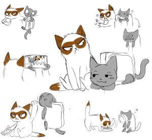 grumpy_cat_and_nyan_cat_
