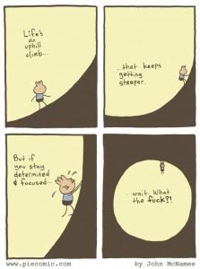 uphill-climb