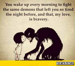 This is for all you brave ones.